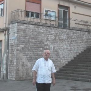 Fiorino Chillemi davanti delegazione mun Scifì