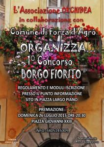 locandina Concorso Borgo fiorito 2015